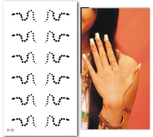 蔡依林手臂纹身图片原稿图片